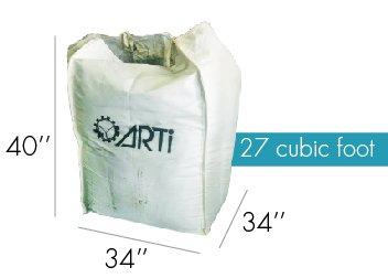 XXL Bag 27 cubic feet biochar 2
