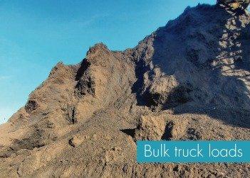 Bulk Truck Loads biochar 1